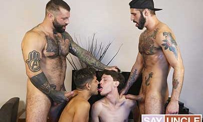 Dad friends Markus Kage and Romeo Davis notice that their sons Alex Montenegro and Edward Terrant are always slacking off and never actually workout at the gym, so they decide to switch their sons and teach them a lesson in the best ways to get fit.