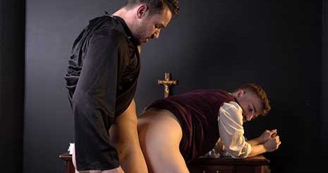 It's Christmas, and catholic boy Ryan Jacobs is missing his family so he decides to pray for them. Suddenly, Father Dale Kuda is next to him to offer some comfort.