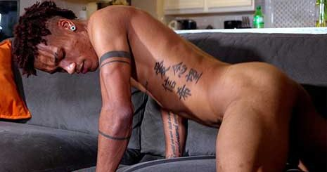 We've never wished we were a couch until we watched Martavis Ray stroke his long dick all over this one. We can tell he definitely works on his moves with the way he moves his hips.